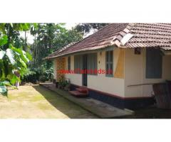 2.50 acre agricultural land with farm house for sale in Payyampally