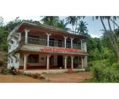 7500 Sq Ft River Attached Farm House with Farm Land for sale