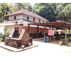 4 Acre Farm Land with Farm House for sale near Koppa, Sringeri