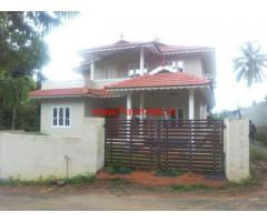 2400sq.ft double storied house for sale at Bathery