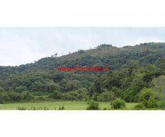 45 Acres of vacant land for sale Madikeri - Coorg