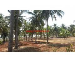 1.16 Acres Farm Land for sale on Suttur to Nanjangud Main Road