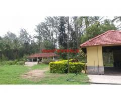 70 km from Mysore Near Priyapatna 75 acres farm