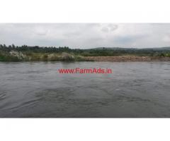 1 acre 17 river adjacent land for sale at Madevpura