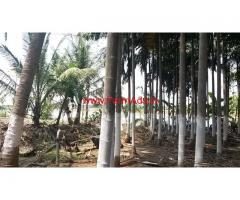 Beautiful river and town adjacent farm land for sale 3 acres at HD Kote
