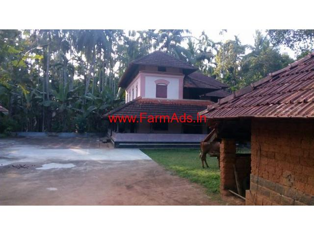 1.70 Acre Agriculture land with Farm House for Sale at Koottanad -Vattenad