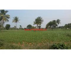 7 acres Farm land main road facing for sale 33 km from Mysore