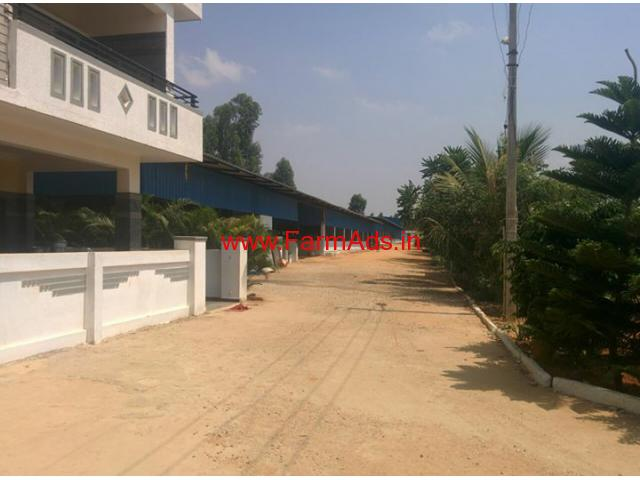 6.5 Acres Dairy farm for sale near Kaiwara, Bangalore