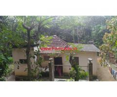 1.12 Acres Farm land with House for sale in Kottayam