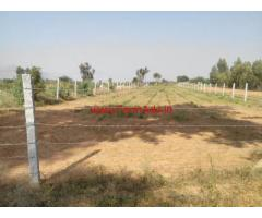 Agricultural farm land is attached to kolar-chintamani main road for sale