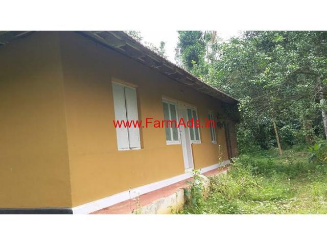 4 Acres Farm land with Farm House for sale at Kalpetta