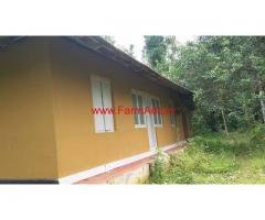 4 Acres Farm land with Farm House for sale at Kalpetta