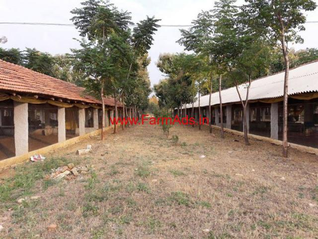 3 Acre farm house with poultry farm for sale in Bangarpet - Kolar