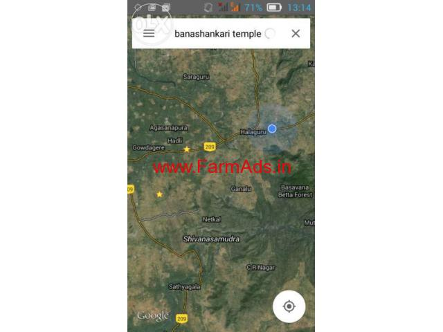 100 Acres Agriculture Land for sale at Halaguru, Malavalli, Kanakapura