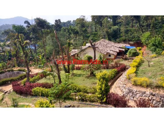 35 Acres Coffee Estate with Running Homestay for sale near