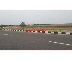 52 Acres flat land for sale on National Highway on MADURAI - TUTICORIN