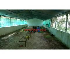 Two Animal sheds for Rent at Tarikere Tq Chickamagaluru