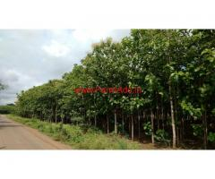 Want to sell 2 Acres of land at Nira near Pune