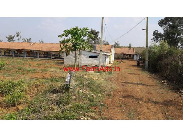 2.05 Acres Farm Land with Poultry Farm for sale in Belur near Hassan
