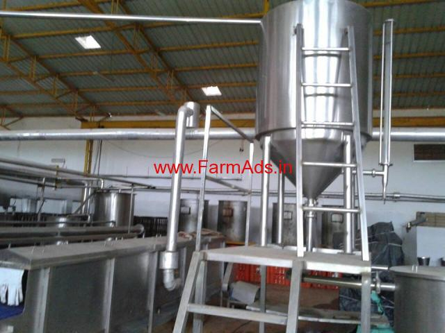 350 alphonso mango farm land + mango pulp factory in devgad