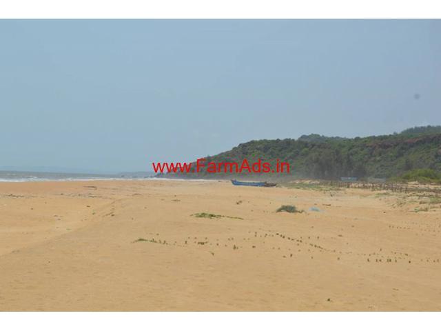 4 Acres beach facing farm land for sale near Kumta