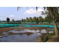 18 acre Farm Land with Fish Ponds and coconut trees at Kottayam, Kerala