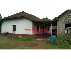 3 Acres Areca and Rubber Estate with Farm House for sale - Madanthyar