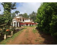 1.5 Acres Estate with Bunglow for sale in Coorg