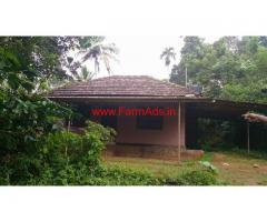 65 Cent Farm Land with house for sale at Kottathara - Wayanad