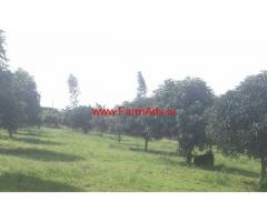 120 Acres Mango Garden for sale. 10 KM from Punganur, Chittoor