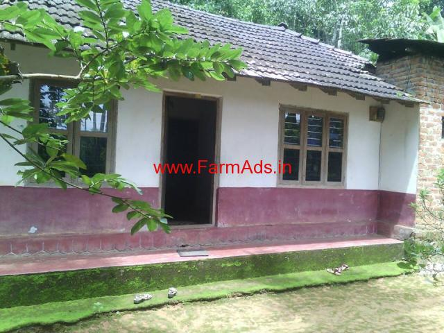 38 Cents land with house for sale at Kottathara - Wayanad