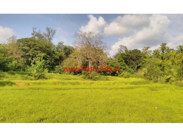 2 acre agricultural land for sale at Kumta