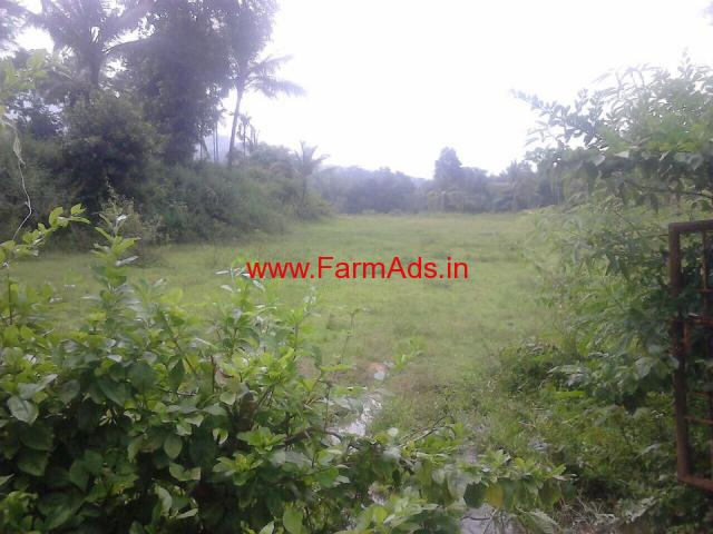 1.5 acre land for sale in Mudigere, on Mudigere - Belur Road