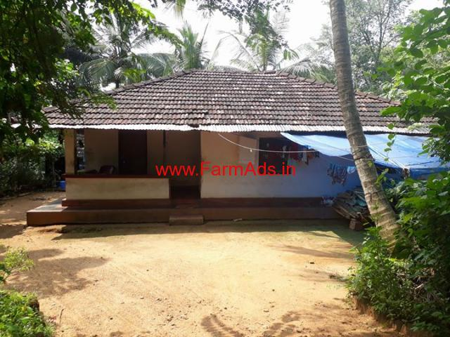 22 Cents Land with house for sale at Pattambi - Palakkad