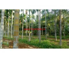 4.36 Acres Agriculture Land for sale Hulikunte - Sira Taluq