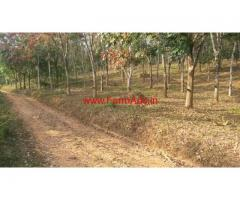 2.5 Acre Rubber Estate for sale at Cheriyamkolly - Wayanad