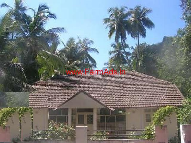 3.9 Acres Agriculture Land with Farm house for sale at Udupi