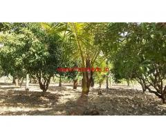 1 acre farm land for sale on KRS rd Hoshalli near Mysore