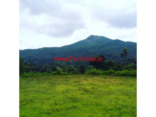 5 acre plain land for sale on Chikkamgalur Balehonnur road