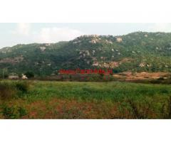 4.38 Acres Land for sale at Manchenalli - Chikballapur to Gowribidnur rd