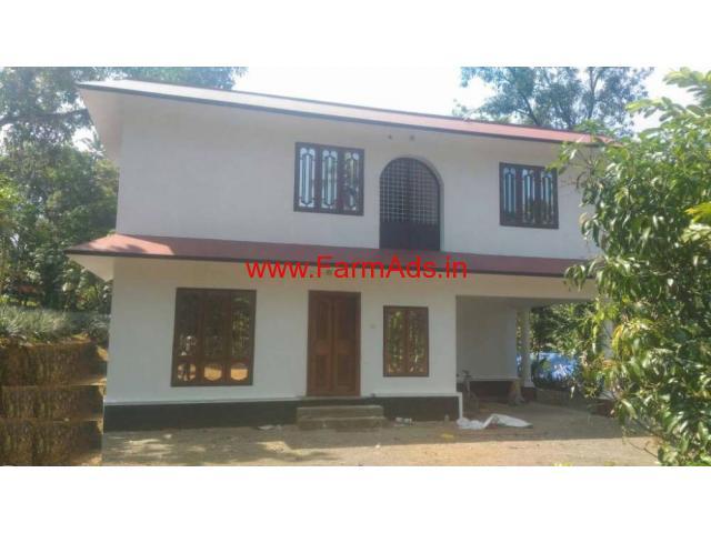 2 Acres Farm land with 2800 Sq Ft Farm House for sale near Thodupuzha