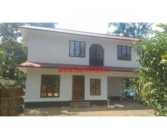 2 Acres Farm land with 2800 Sq Ft Farm House for sale near Thodupuzha