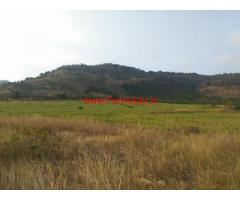 120 acres single plot farm land for sale at kodukonda - Somaghatta
