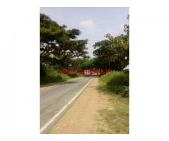 4 Acre Highway Facing Farm Land for sale HD Kote Main Road