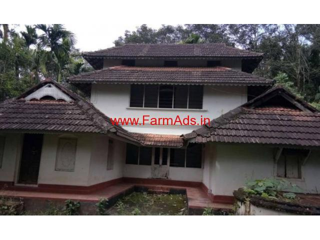 1.30 acre land with illam house available in Wayanad near Mananthavady