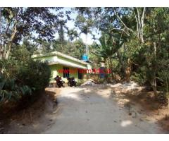 1 Acre agricultural land with house for sale at Poothadi - Wayanad