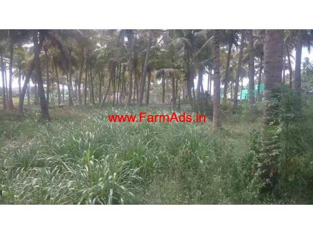 Agriculture land of seven acres for sale at Odugathur - Ambur
