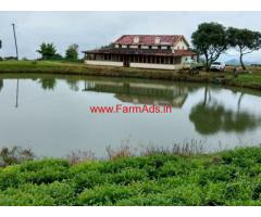 16.8 Acres Land with 2200 sq ft British Bunglow for sale near Naduvattam