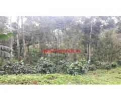 150 Acres Coffee Plantation for sale 3 KMS from Madikeri