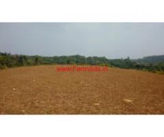 3 acre farm land for sale in Sakleshpura.  14 km from city